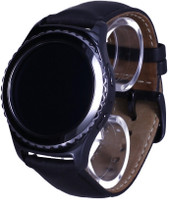Samsung Gear S2 classic 3G 30,2 mm zwart met lerenarmband zwart [wifi + 3G]