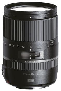 Tamron 16-300 mm F3.5-6.3 Di PZD VC II Macro 67 mm Obiettivo (compatible con Nikon F) nero