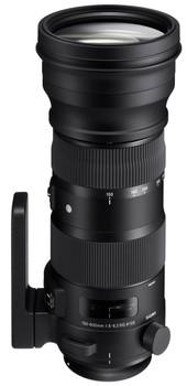 Sigma S 150-600 mm F5.0-6.6 DG HSM OS 105 mm Obiettivo (compatible con Canon EF) nero