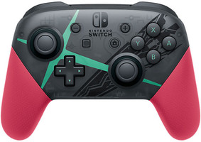 Nintendo Switch Pro controller controller [edizione Xenoblade Chronicles 2] nero