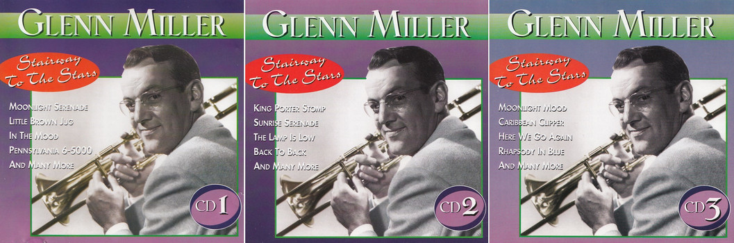 Glenn Miller - Stairway to the Stars [3 CDs]