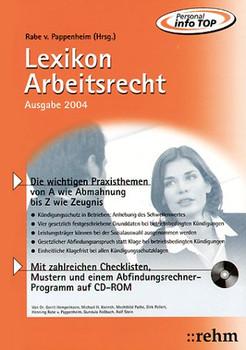Lexikon Arbeitsrecht 2003