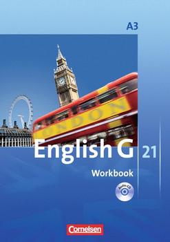English G 21: Workbook A3 - Jennifer Seidl [Broschiert, inkl. CD, 12. Auflage 2016]