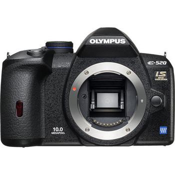 Olympus E-520 noir