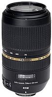 Tamron SP 70-300 mm F4.0-5.6 Di USD 62 mm Objectif  (adapté à Sony A-mount) noir
