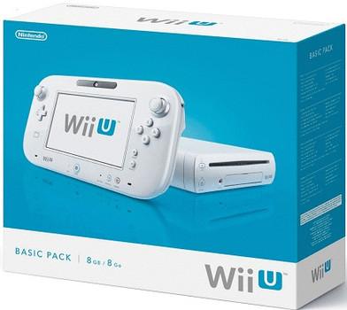 Nintendo Wii U bianco 8 GB [Basic Pack]