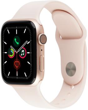 Apple Watch Serie 4 40 mm alloggiamento in alluminio oro con Loop sportivo rosa sabbia [Wi-Fi]