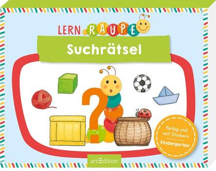 Lernraupe - Suchrätsel [Taschenbuch]