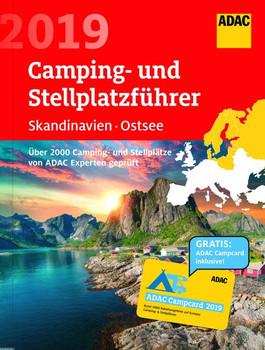ADAC Camping/Stellplatzführer Sk., Ostsee 2019 / ADAC Camping-/Stellplatzführer Skandinavien, Ostsee 2019. Über 2.000 Camping-Stellplatzführer von ADAC Experten geprüft - ADAC Medien und Reise GmbH  [Taschenbuch]