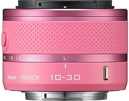 Nikon 1 NIKKOR 10-30 mm F3.5-5.6 VR 40,5 mm Objetivo (Montura Nikon 1) rosa