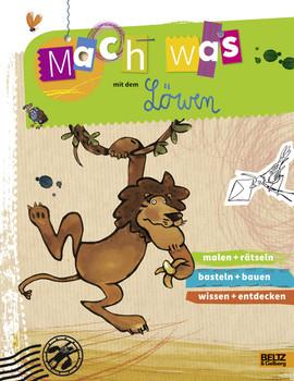 Mach was mit dem Löwen: Vierfarbiges Aktivitätsheft (Beltz Nikolo) - Gellersen, Ruth