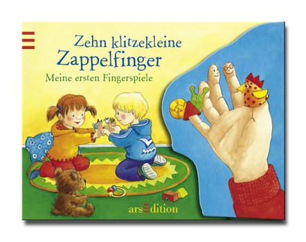 10 klitzekleine Zappelfinger: Meine ersten Fingerspiele - Antje Flad