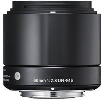 Sigma A 60 mm F2.8 DN 46 mm Objectif (adapté à Sony E-mount) noir