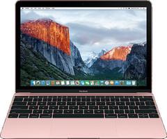 Apple MacBook 12 (retina-display) 1.1 GHz Intel Core M3 8 GB RAM 256 GB PCIe SSD [Early 2016, QWERTY-toetsenbord] roségoud