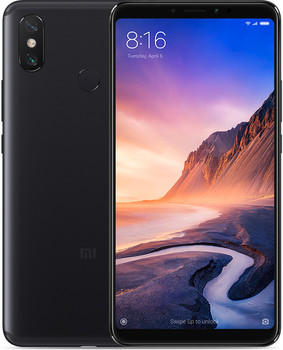Xiaomi Mi Max 3 Dual SIM 64 Go noir