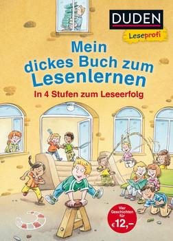 Leseprofi – Mein dickes Buch zum Lesenlernen: In 4 Stufen zum Leseerfolg - Hanneliese Schulze  [Gebundene Ausgabe]