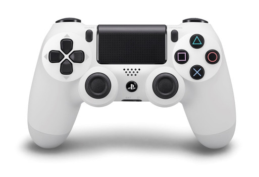 PS4 DualShock 4 draadloze controller wit