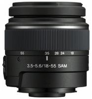 Sony 18-55 mm F3.5-5.6 DT SAM 55 mm filter (geschikt voor Sony A-mount) zwart
