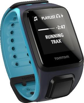 TomTom Runner 2 Music (bracelet large) bleu