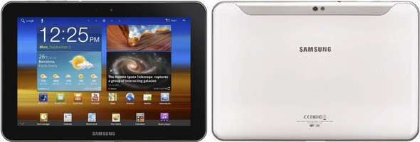 """Samsung Galaxy Tab 10.1 10,1"""" 16 Go [Wi-Fi + 3G] blanc"""
