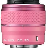 Nikon 1 NIKKOR 30-110 mm F3.8-5.6 VR 40,5 mm filter (geschikt voor Nikon 1) roze