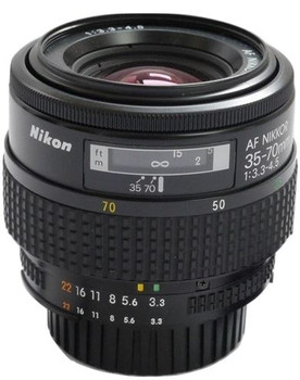 Nikon AF NIKKOR 35-70 mm F3.3-4.5 62 mm Objectif (adapté à Nikon F) noir