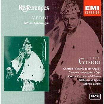 Gobbi - Verdi: Simon Boccanegra (Gesamtaufnahme)