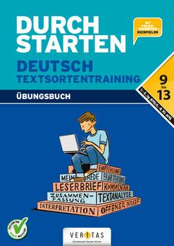 Durchstarten - Deutsch - Neubearbeitung: 9.-13. Schuljahr - Textsortentraining - Hofer, Jutta