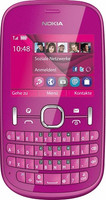 Nokia 201 Asha 64MB rosa