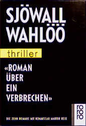 Roman über ein Verbrechen - Sjöwall Wahlöö [10 Bände]