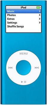Apple iPod nano 2G 4GB blu