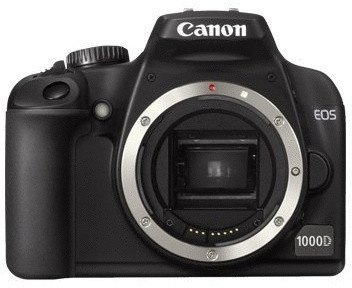 Canon EOS 1000D Cuerpo negro