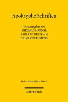 Apokryphe Schriften. Rezeption und Vergessen in der Wissenschaft vom Öffentlichen Recht [Taschenbuch]