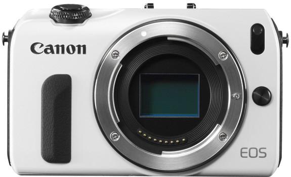 Canon EOS M fotocamera di sistema body bianco