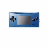 Game Boy Advance Micro blue