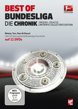 Best of Bundesliga - Die Chronik 1963 - 2015 [11 Discs]