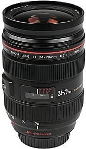 Canon EF 24-70 mm F2.8 L USM 77 mm Filtergewinde (Canon EF Anschluss) schwarz