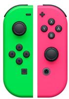 Nintendo Switch Joy Con Set Mandos verde rosa