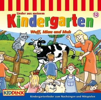 Various - Kindergarten,Wuff,Miau und Muh