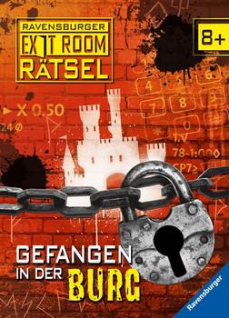 Exit-Rätsel: Gefangen in der Burg - Anne Scheller  [Gebundene Ausgabe]