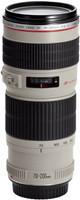 Canon EF 70-200 mm F4.0 L USM 67 mm Objectif (adapté à Canon EF) blanc