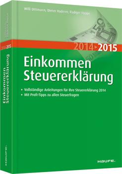 Einkommensteuererklärung 2014/2015 - Dittmann, Willi