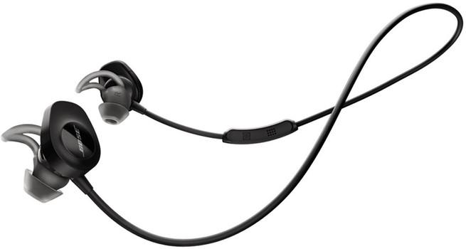 Bose SoundSport écouteurs intra-auriculaires wireless noir