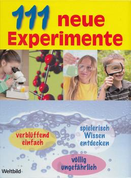 111 Neue Experimente - Kerstin Landwehr [Gebundene Ausgabe, Weltbild]