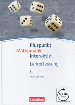 Pluspunkt Mathematik interaktiv 6: Lehrerfassung für Rheinland-Pfalz - Peter Borneleit [Gebundene Ausgabe]
