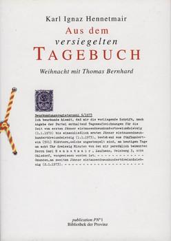 """Der """"Schrieb"""". Aus dem Tagebuch - Karl Hennetmair"""