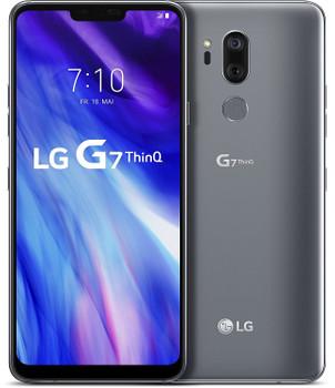 LG LMG710 G7 ThinQ 64Go new platinum gray