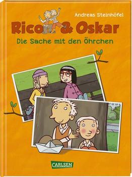 Rico & Oskar (Kindercomic): Die Sache mit den Öhrchen - Andreas Steinhöfel  [Gebundene Ausgabe]