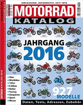Motorrad Katalog 2016 Gebraucht Kaufen