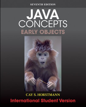 Java Concepts: Early Objects - Horstmann, Cay S